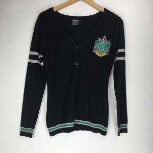 Harry Potter S Black Green Slytherin Sweater